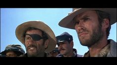 """Clint Eastwod. The Good ,The Bad, and The Ugly. """"Hey Blondie"""""""