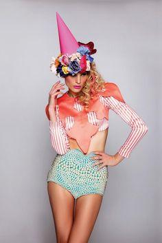 I like her hat. Ana Ljubinkovic A/W '13 Never Forever look book