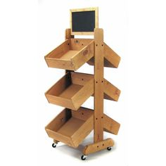 Wood Display Stand
