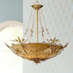 Parisian Collection Six Light Crystal Pendant Chandelier