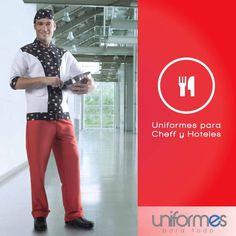 Listos para un fin de semana lleno de sazón y buena comida. #UniformesparaTodo #Colombia #Restaurantes #Ched www.uniformesparatodo.com