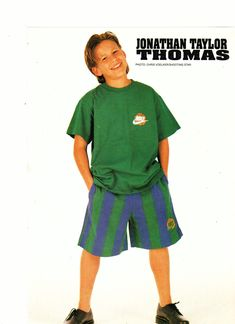 In excellent condition. Jonathan Taylor Thomas, Child Actors, Pinup, Personality, Childhood, Teen, Magazine, Shorts, Boys