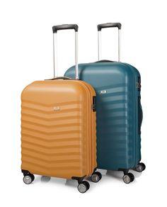 #Set 2 trolleys en ABS disponible en 3 colores de la firma #jaslen