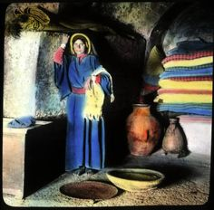 Interior of home, Ramallah :: H.G. May Archaeology of Palestine
