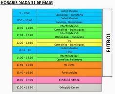 Carmelites Esport: 12 hores - diada 31 de maig
