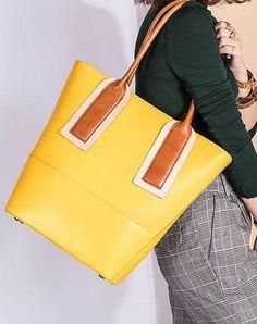 Genuine Leather Handmade Handbag Tote Bag Shoulder Bag Purse For Women Leather Shopper Bag