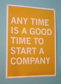 Start a small business.