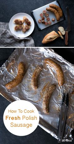 Fresh kielbasa (Polish word for sausage) is wonderful. While there are many options for serving, there a few basic techniques that should be followed to maximize flavor. Here's how: http://www.ehow.com/how_8083899_cook-fresh-polish-sausage.html?utm_source=pinterest.com&utm_medium=referral&utm_content=freestyle&utm_campaign=fanpage