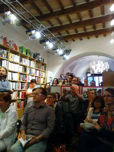 Libreria Aleph @ Castelfidardo - giugno 2016. Presentazione de Lo specchio dell'uomo.