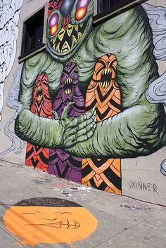 Orange face - Haight by TimShoesUntied