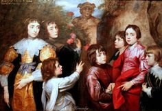 A Family Group SIR ANTHONIS VAN DYCK (Dutch, 1599-1641)