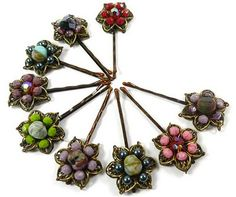 Make Hair Pin or Clip Jewelry Tutorials