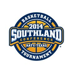 Southland Conference Men's Basketball Tournament Logo (2014)