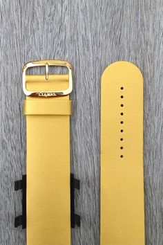 Gold leather wrist bracelet for S.T.A.M.P.S watches cost £20.Metallic gold with twill texture leather strap comes with specially design snapper for attaching your stamps watch. Buy online today with Free delivery to UK. Metal Bracelets, Watches, Different Fabrics, Gold Leather, Metallic Gold, Free Delivery, Stamps, Texture, Stuff To Buy