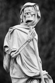 Grim Reaper III #cemetery #death #sinister #skeleton #uncanny