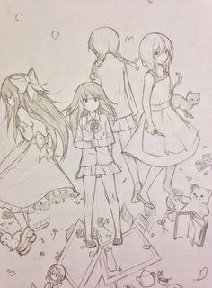 tootoki Aya <3 Ib <3 Viola <3 Madotsuki <3