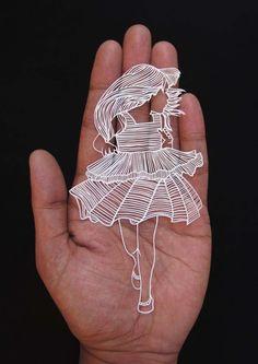La Sculpture sur Papier de Parth Kothekar (7)