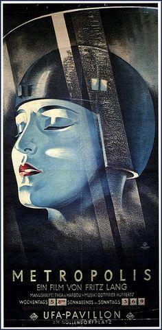 ✯ Metropolis 1927 ~by Art & Vintage