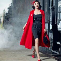 Pin-up girl Winny - Fashion - Mode Retro Mode, Vintage Mode, Vintage Girls, Vintage Dresses, Vintage Outfits, Mode Rockabilly, Rockabilly Fashion, Retro Fashion, Vintage Fashion