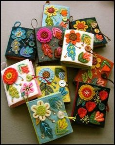 Needle Books (48 pieces)