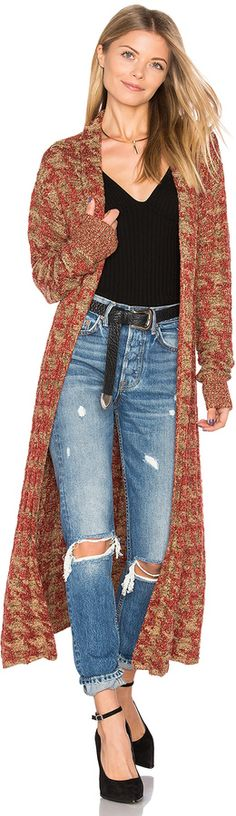 Tularosa x REVOLVE Annie Long Knit Coat | #Chic Only #Glamour Always