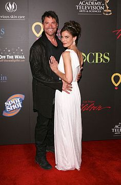 Days of our Lives' Kristian Alfonso and Peter Reckell at the 2011 Daytime Emmy Awards #dool