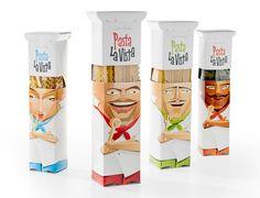 Pasta La Vista designed by Andrew Gorkovenko #package #funny #pasta