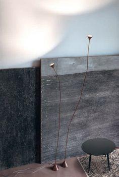 Papiro LED, lampada da terra di Pallucco | lartdevivre - arredamento online