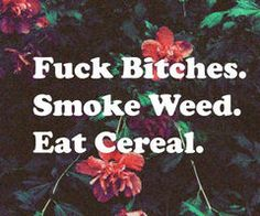 #weed #cereal . lol