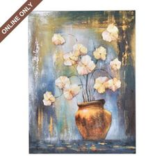 Dublin Floral Canvas Print