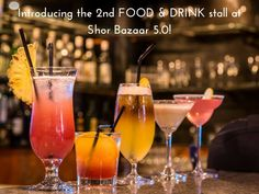 Introducing The 2nd Food/ Drinks Stall at #ShorBazaar 5.0. 17th & 18th february 2017 at Occasions Lawns pune #Event #Bar #Restaurants #Cocktails #CityShorPune