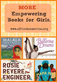 Link doesn't work:( but it's suppose to be a list of multicultural books that empower girls -- including one about adoptee Michaela DePrince, a famous African American ballerina! Good Books, Books To Read, Ya Books, Famous African Americans, Girl Empowerment, Kids Reading, Reading Lists, Library Books, Library Ideas