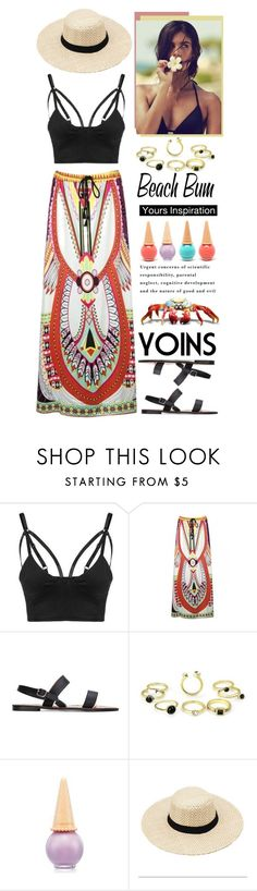 """""""Beach Bum with yoins!!!"""" by meyli-meyli ❤ liked on Polyvore featuring Etude House, yoins, yoinscollection and loveyoins"""