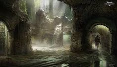 Image result for dungeon concept art