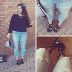 Fashion blogger Kelly in our #ShoeZone jellies! #sandals #fblogger #fashion #blogger #fbloggeruk