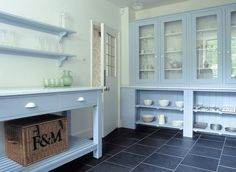 We are planning to turn our too small dining room into a butler& pantry and. Kitchen Pantry, Kitchen Art, Country Kitchen, Kitchen Ideas, Kitchen Notes, Kitchen Interior, Arts And Crafts House, Home Crafts, Plain English Kitchen
