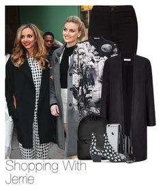"""""""Jade and Perrie"""" by laurenbeth15 ❤ liked on Polyvore featuring Little Me, Topshop, Mary Katrantzou, Rains, Dolce&Gabbana, MAC Cosmetics and Yves Saint Laurent"""