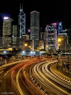 Hong Kong Nights, Central District, stunning!