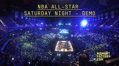 The 2015 NBA All-Star Weekend is stepping up the entertainment factor this year with immersive motion graphics produced by…