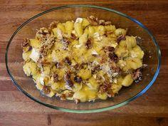 Gnocchi with Camambert and Walnuts