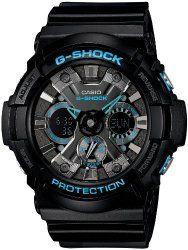 452afd69046d CASIO G-SHOCK BLACK X BLUE SERIES (GA-201BA-1AJF) MEN S WRISTWATCH