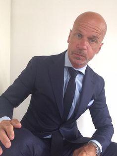 Suit: Tagliatore  Shirt: Artu Napoli Tie: Brunello Cucinelli
