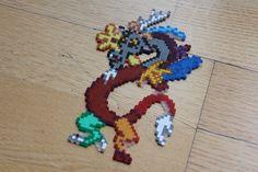 MLP Discord hama perler beads by Retr8bit on deviantART