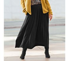 Dlhá strečová sukňa   blancheporte.sk #blancheporte #blancheporteSK #blancheporte_sk #newcollection #autumn #fall #isabella Waist Skirt, High Waisted Skirt, Skirts, Fashion, Curvy Women, Moda, High Waist Skirt, Fashion Styles, Skirt