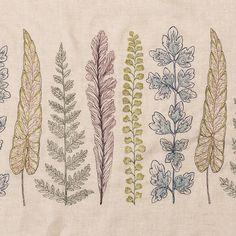 Plants Border Yardage #All-Products