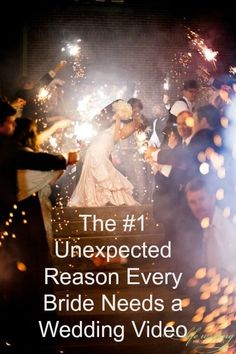 Think you know the most unexpected reason to get a wedding video? Find out! #weddingvideo