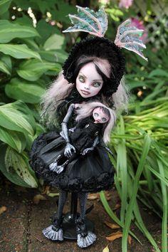 Nori Blackwater  She is a monster high repaint custom.