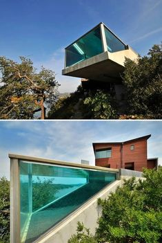 Designed by Anderson-Wise Architects, a One-of-a-Kind Cantilevered Lap Pool in Austin, Texas. Hotel Swimming Pool, Swiming Pool, Luxury Swimming Pools, Best Swimming, Luxury Pools, Indoor Swimming Pools, Dream Pools, Swimming Pool Designs, Lap Swimming