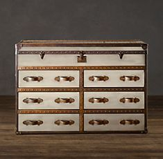 Love how this dresser looks like old trunks/luggage.  #uncommongoods #contest