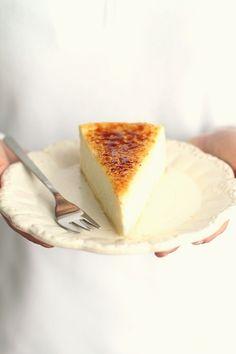 Crème brûlée cheesecake ♥